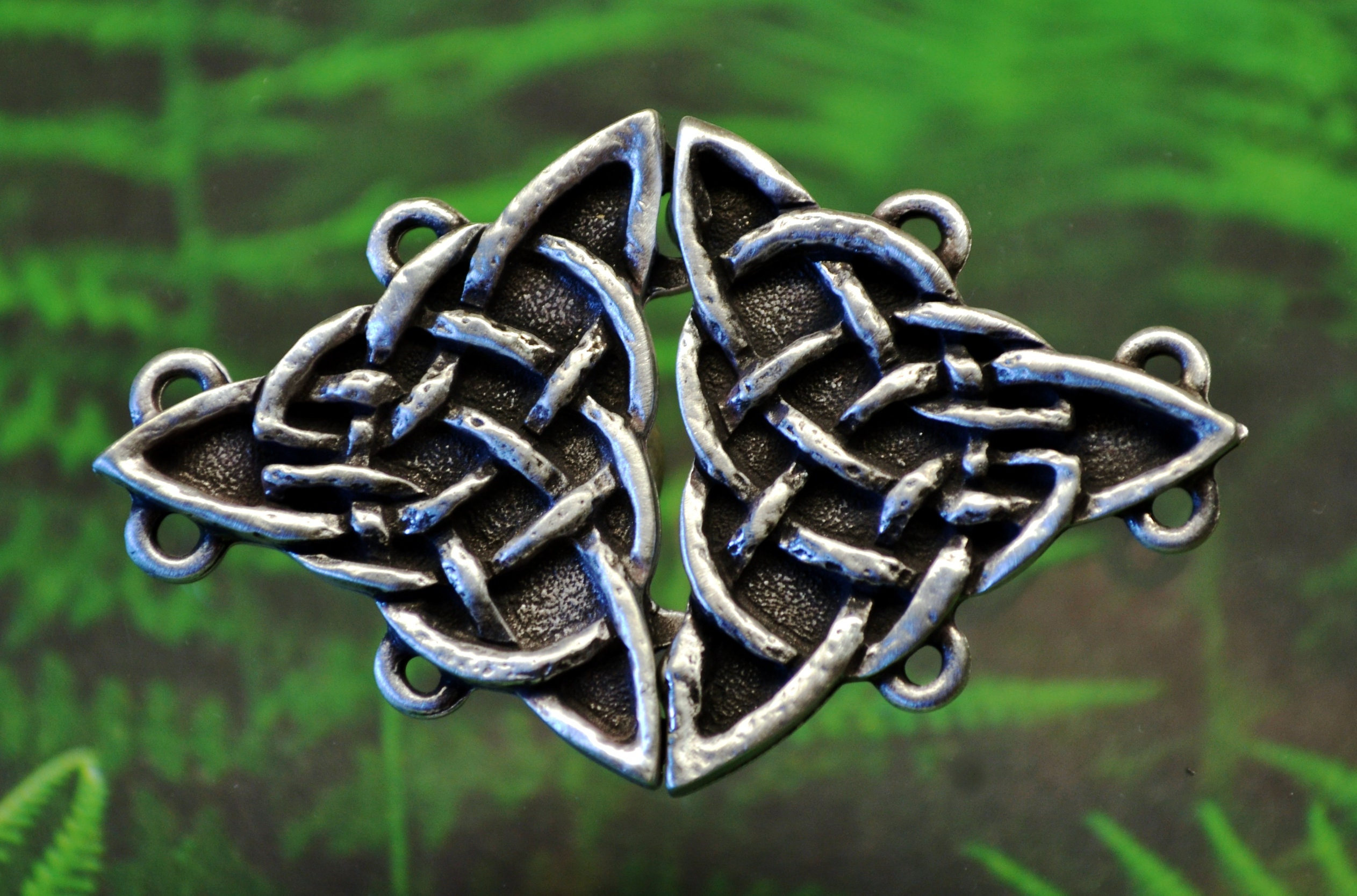 silver knot for jewellery gift eternity earrings girlfriend sterling her celtic pin unique irish womens jewelry