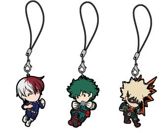 My Boku no Hero Academia Keychain Charm Set