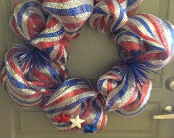 Indepence Day Wreath