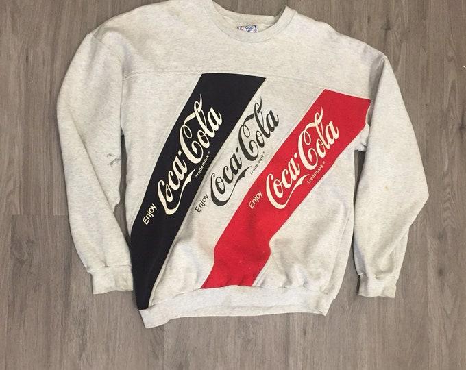 90s Coca Cola Sweatshirt