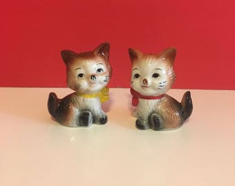 Retro Puppy Salt and Pepper Shakers