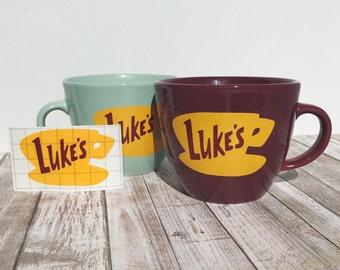 Gilmore Girls Luke's Diner Decal