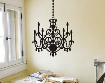 Chandelier decals etsy aloadofball Choice Image