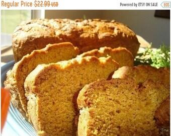MEGA SALE Aunt Helen's Pumpkin Bread - TWO (2) Loaves