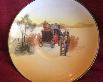 Royal Doulton Coaching Days Saucer
