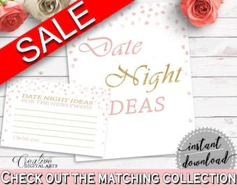 Date Night Ideas Bridal Shower Date Night Ideas Pink And Gold Bridal Shower Date Night Ideas Bridal Shower Pink And Gold Date Night XZCNH