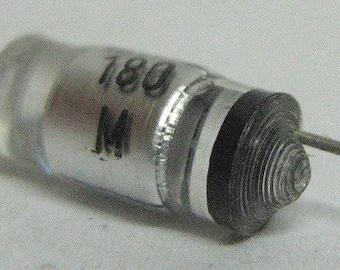 Vintage capacitor 180pF 20% 630V, polystyrene
