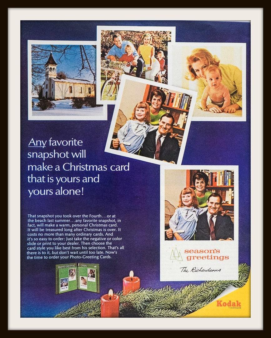 1966 kodak photo greeting cards advertisement vintage kodak description original vintage 1966 kodak photo greeting cards advertisement kristyandbryce Gallery