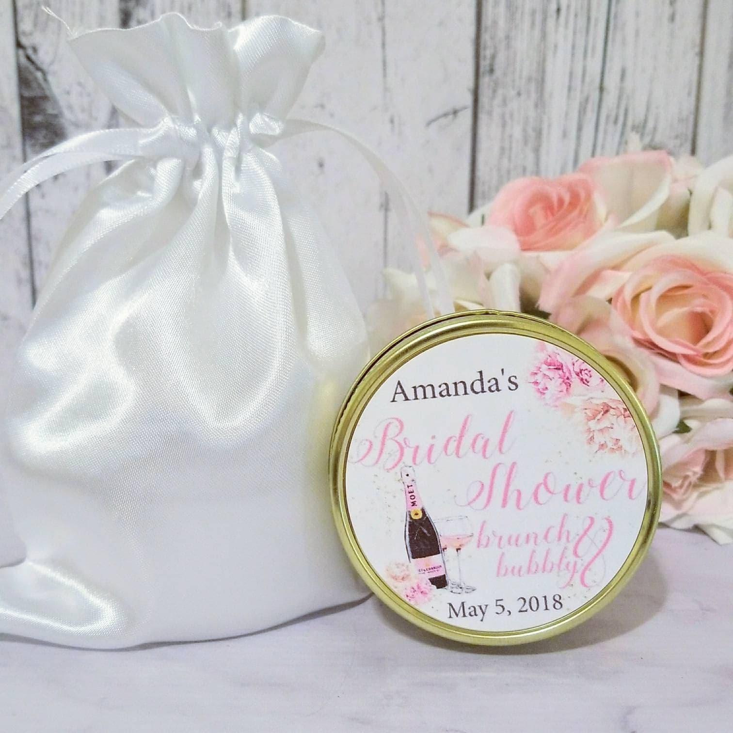 Bridal Shower Favors - Brunch and Bubbly Bridal Shower - Bridal ...