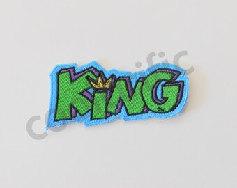 King Sticker Patch