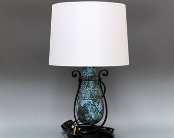 Rare Ceramic Table Lamp by Jacques Blin (c. 1950s)