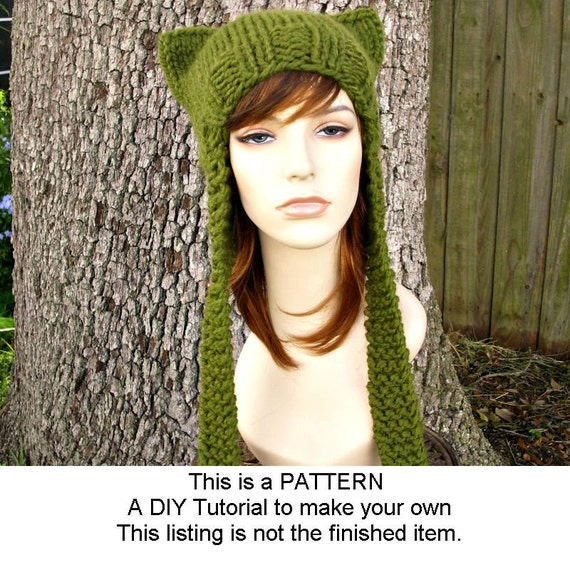 Instant Download Knitting Pattern Knit Hat Knitting Pattern Knit