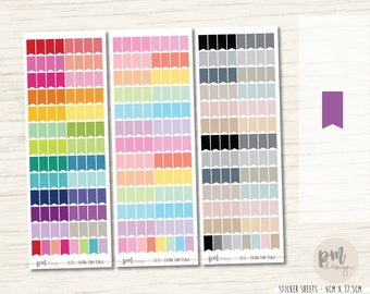 Extra Tiny Flag Stickers - Planner Stickers - FL11