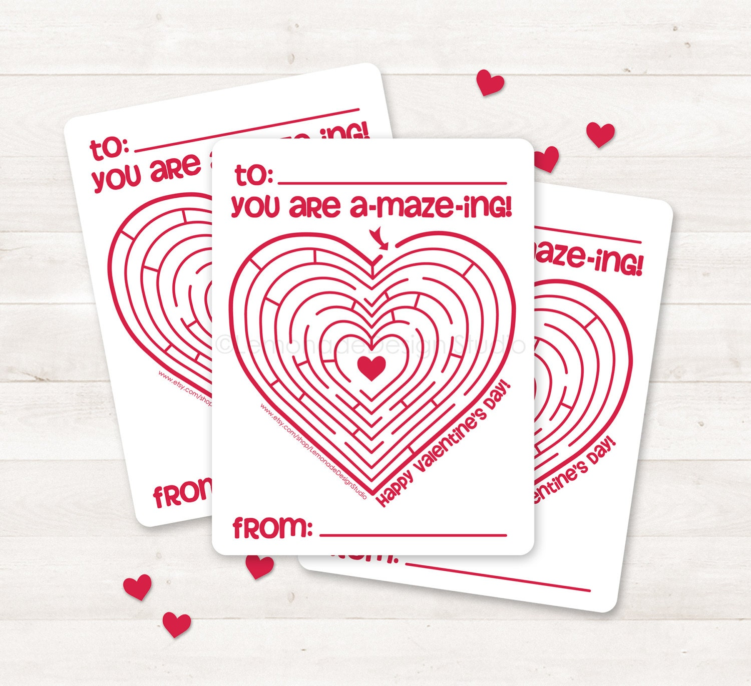 Maze Free Printable Pencil Valentines - Worksheet & Coloring Pages