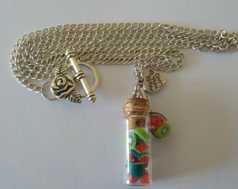 Fruity vial necklace