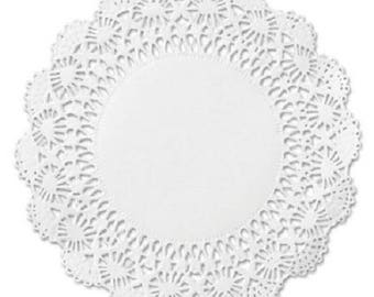 "200 ct. 4"" White Cambridge Paper Lace Doilies Craft Doily Wedding Decor"