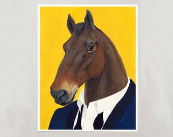Art Print - Horse - Signed by Artist - 3 Sizes - S/M/L