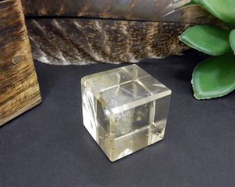 Smokey Quartz Cube - Stone Cubes - ONE of a KIND  (RK2B2-41)