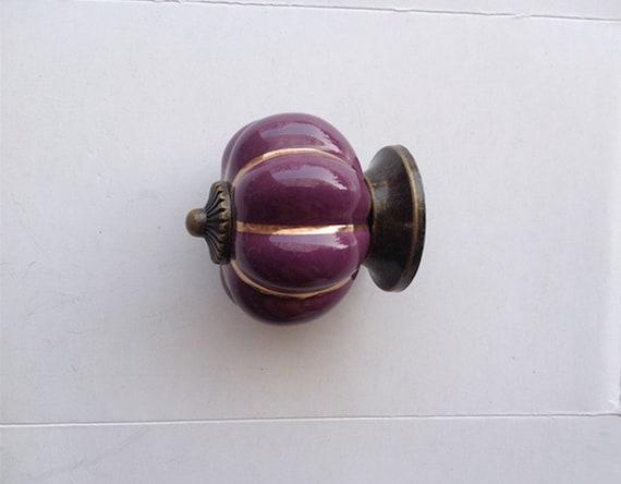 Charmant Purple Cabinet Knobs Pumpkin Knobs Kitchen Dresser Knob Drawer
