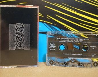 Unknown Pleasures by Joy Division Vintage Cassette Tape