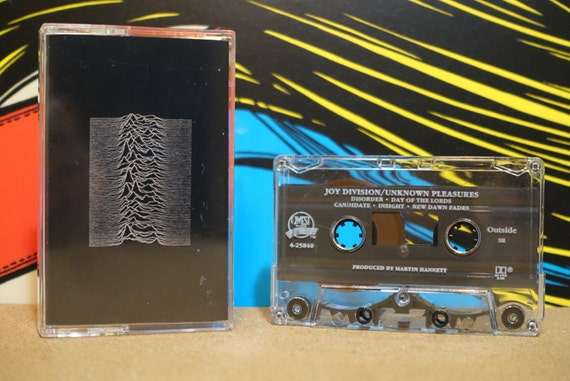 Unknown Pleasures by Joy Division Vintage Cassette Tape