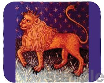 Mouse Pad; Leo The Lion