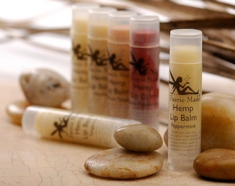 Natural Hemp Lip Balm 3 for 9.00