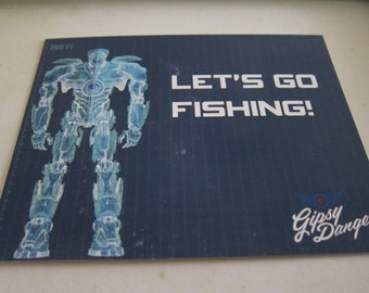 Pacific Rim - Let's Go Fishing Postcard