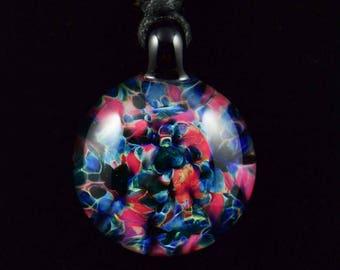 Borosilicate Glass Frit Pendant