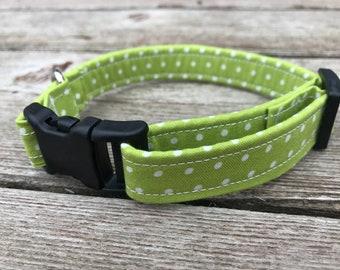 """Handmade Dog Collar - """"Buttons"""""""