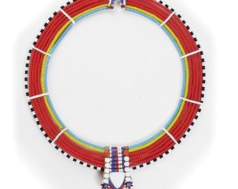 Handmade  Traditional Maasai Necklace - ASSORTED