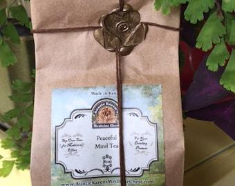 Tea Herbs Loose Leaf Organic: Peaceful Mind
