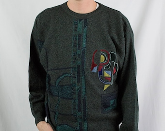 Vintage 80s Aggio Sweater Size M