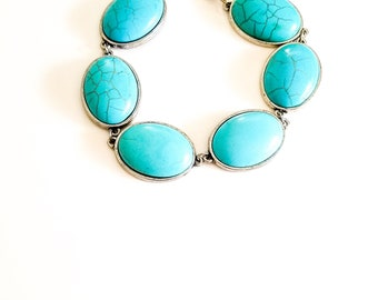 Turquoise Marble Bracelet