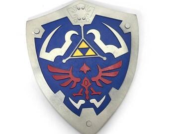 Wooden Legend of Zelda Hylian Shield Wall Art
