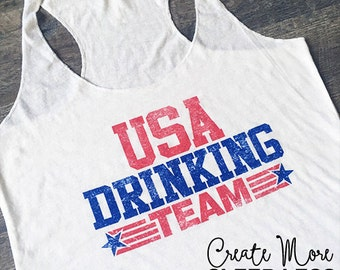 Country Tank Top. Country Festival. Patriotic. America Tank.