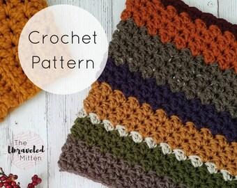 Wildwood Cowl | Easy Crochet Pattern | PDF Digital Download