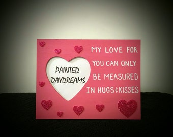 Hugs and Kisses Picture Frame