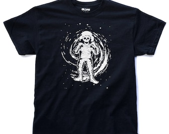 Astronaut Black Hole T Shirt