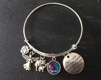 I Will Hold You In My Heart Bangle