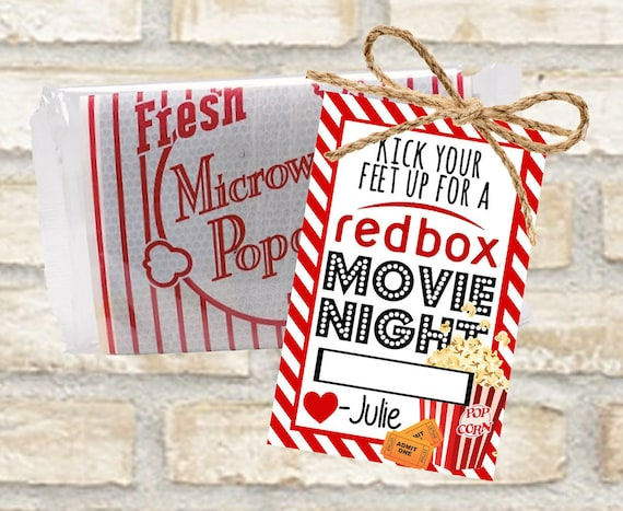 Redbox Gift Cards For Popcorn And A Movie Date Night With
