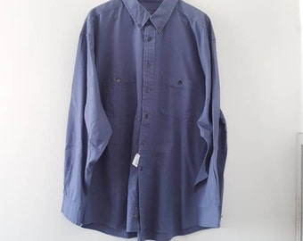 New Pendleton cotton shirt, XXL