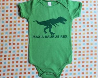 Dinosaur Baby, Custom Dinosaur, Dinosaur Birthday, Dinosaur Party, Kids Dinosaur, Baby Dinosaur, T Rex one piece, T Rex Shirt, T Rex Baby