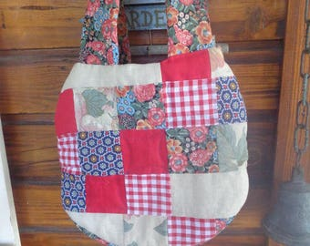 bag of the season spring 30 x 30cm without handles small beach bag for small items