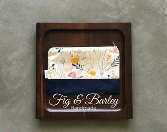 Floral make up bag, zipper pouch, carry all, pouch, Make up bag, Women, Cosmetics Bag, bridesmaid gift, makeup, bag
