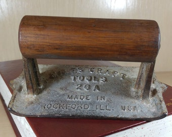 Vintage Miles Craft Concrete Trowel -Rockford, Ill.