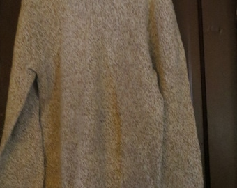 Vintage North Cape wool   brown  ski  Sweater, Knutt and Knutt   sz large