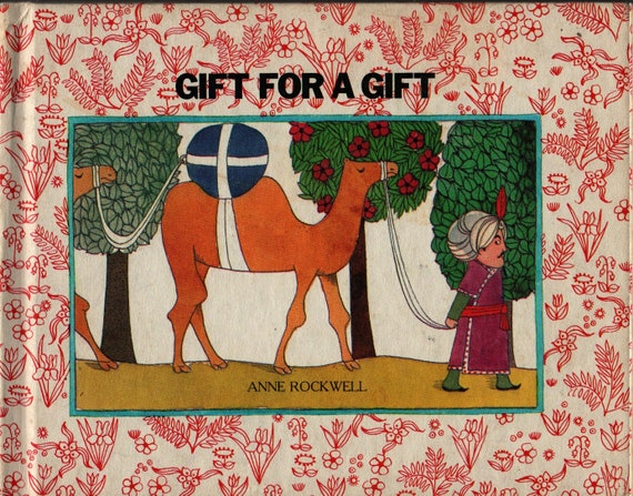 Gift For A Gift + Anne Rockwell + 1974 + Vintage Kids Book