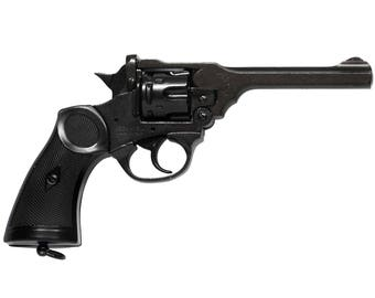 WW2  Webley MK4 Pistol. Denix Replica  Non-Firing Replica Gun Pistol  You are viewing a Non-Firing Replica of the World War Two
