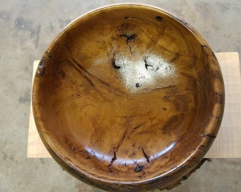 Reclaimed Mesquite Perhaps Wood Bowl